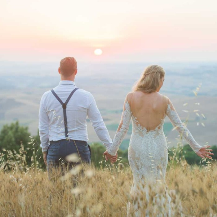 Jennifer& Ross {Married Tuscany Italy}