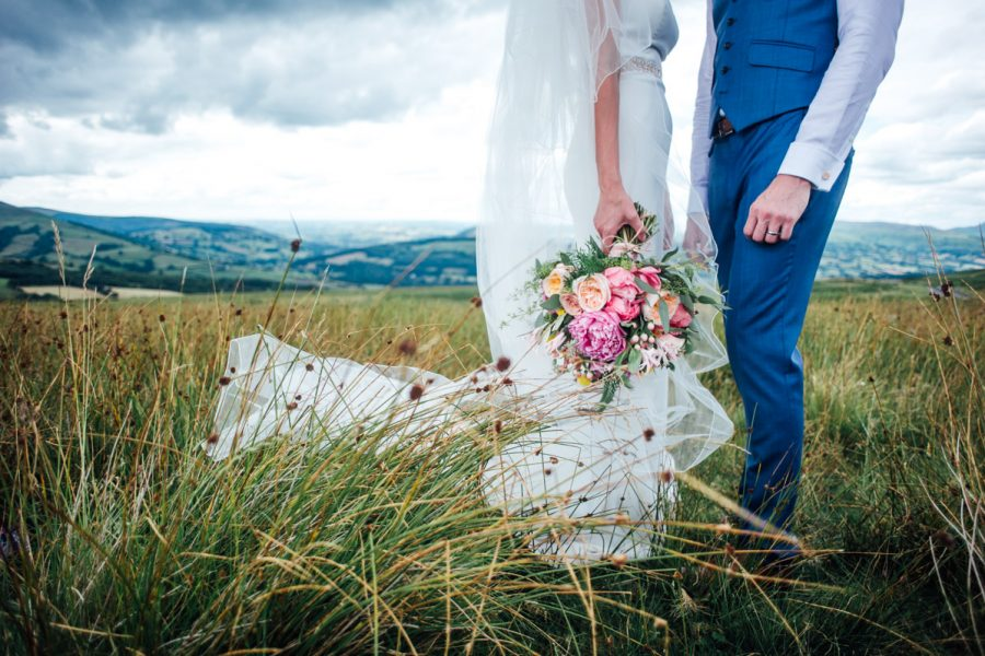 Porthmawr Country House wedding Photography- Donna & Nick