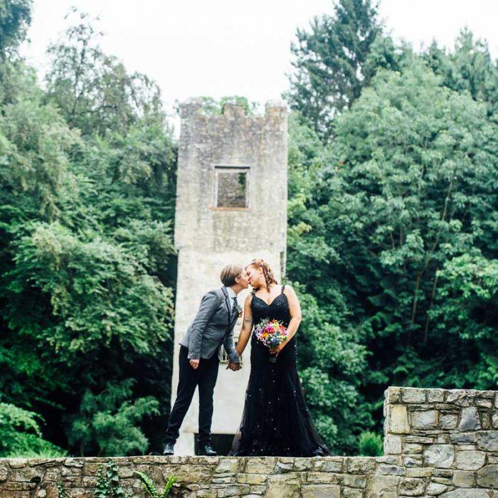 Fonmon Castle wedding{Amanda & Bethan}